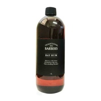TRADITIONAL BARBERS BAY RUM 1LTR
