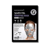 Silver Foil Wrapping Mask