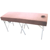 Towelling Couch Cover Pink