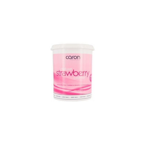 Caron Deluxe Strawberr Crème Strip Wax 800g